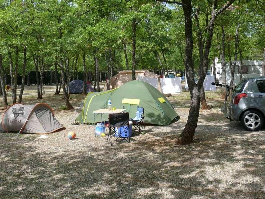 camping sauvage tente corée sud
